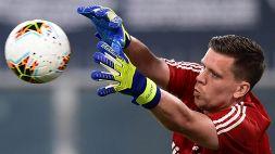 Juventus-Lione, Szczesny si affida a un precedente