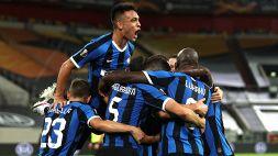 Lautaro e Lukaku trascinano l'Inter in finale di Europa League: 5-0