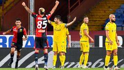 Le foto di Genoa-Verona 3-0