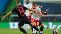 Le foto di Lipsia-Atletico Madrid 2-1
