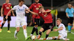 Le foto di Manchester United-Copenaghen 1-0