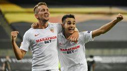 Le foto di Siviglia-Manchester United 2-1