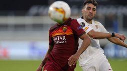 Le foto di Siviglia-Roma 2-0