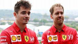 F1, la Ferrari cerca la svolta: le parole di Vettel e Leclerc
