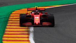 F1, Gp Belgio: situazione disperata per la Ferrari. Vola Verstappen
