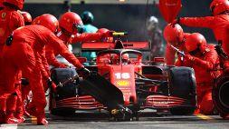 F1, Gp Belgio: la Ferrari tocca il fondo, Hamilton domina a Spa