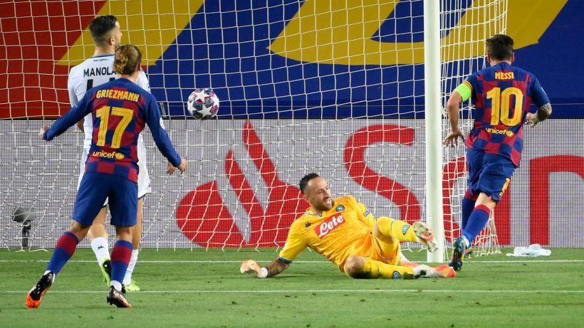 Troppo Messi per il Napoli: 3-1 blaugrana, Gattuso saluta la Champions