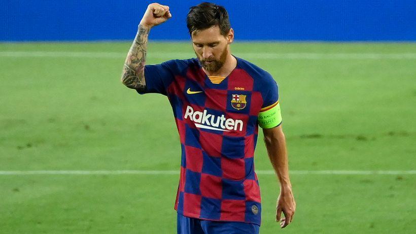 Barça, la vittoria non basta: Messi se la prende con l'arbitro
