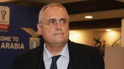 Lazio, sentenza caso tamponi: salva la classifica, non Lotito