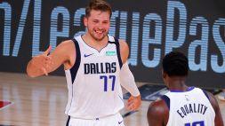 NBA, super Doncic fa volare i Mavericks