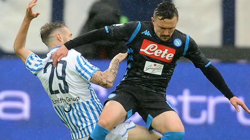 Napoli, subito un infortunio per Mario Rui