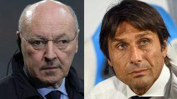 Mercato Inter: divorzio Conte, faccia a faccia con Marotta