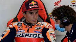 MotoGp: Marc Marquez, si allungano i tempi di recupero