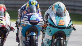 Moto3, pole di Rodrigo. Masia punito