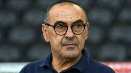 """Sarri furioso nel finale di Juve-Lione: """"È una vergogna"""""""