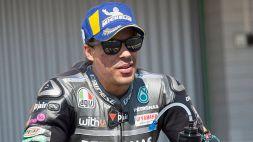 """MotoGp, Morbidelli: """"Un elicottero mi ha svantaggiato, Rossi sa come stupire"""""""