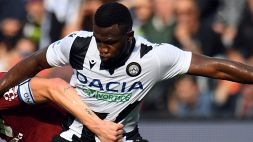 Udinese, Opoku ai saluti: il ghanese torna in Francia