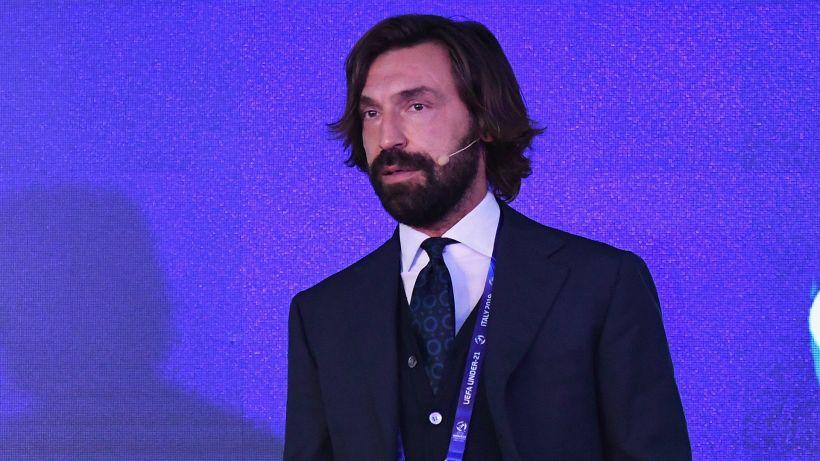 """Mancini: """"Pirlo è stato fortunato"""""""