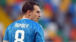 Juventus: Pirlo rilancia Ramsey in Champions