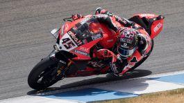 Superbike, in Portogallo gara 1 a Redding. Brilla Rinaldi
