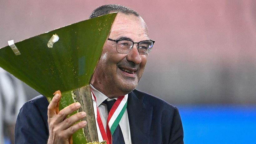 """Mercato Juve, Sarri fa una rivelazione sul futuro: """"Hanno già deciso"""""""