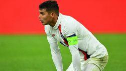 PSG coi cerotti dopo l'Atalanta: ko Navas e Thiago Silva