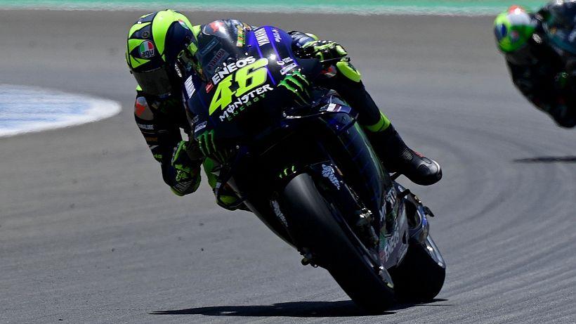 """MotoGp, Valentino Rossi: """"Passi in avanti"""""""