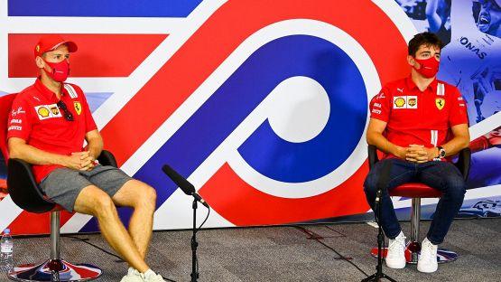 """F1: la Ferrari non va, Leclerc e Vettel si arrendono: """"E' come un muro"""""""