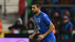 Italia-Bosnia: Chiellini in panchina per errore, dentro Acerbi
