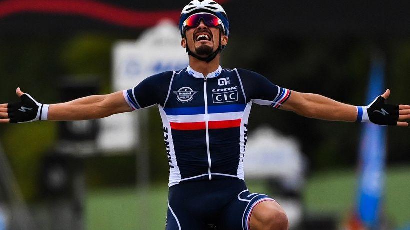 Alaphilippe ha scelto la sua prima corsa da campione del mondo