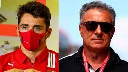 """F1, crisi Ferrari: Alesi dà la sveglia a Leclerc: """"Non ne hai il diritto"""""""