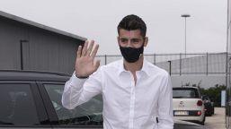 Juventus, ufficiale il ritorno di Morata: il saluto all'Atletico Madrid