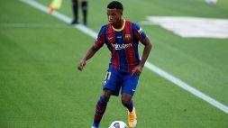 Barcellona, clausola da urlo per blindare Ansu Fati
