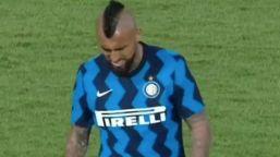 Inter, Vidal s'infortuna subito