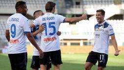 Serie A, l'Atalanta riparte forte: poker al Torino