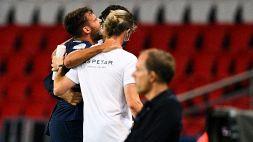 PSG, grave infortunio per Bernat
