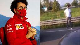 F1, crisi Ferrari: disavventura Binotto diventa virale sul web