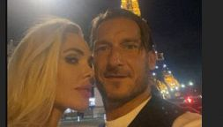 Ilary Blasi e Francesco Totti alla conquista di Parigi