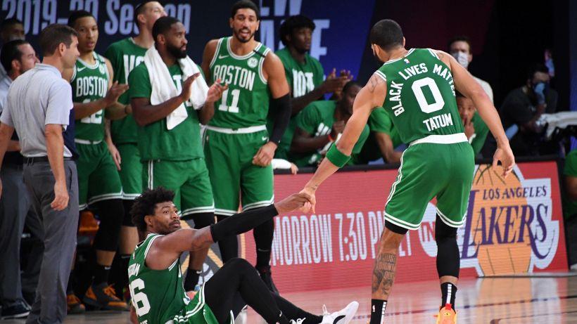 NBA, Boston si rialza e riapre la finale ad Est