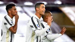 Ronaldo salva la Juve in dieci: all'Olimpico è pari con la Roma