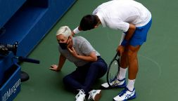 US Open: gesto sconsiderato di Djokovic, nuovo post