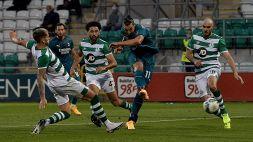 Europa League: le foto di Shamrock Rovers-Milan 0-2
