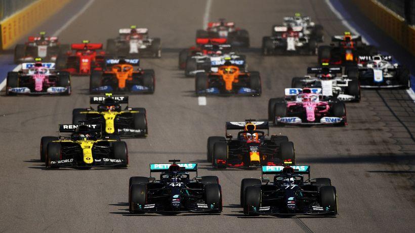 F1, Russia: vince Bottas, Hamilton penalizzato. Orgoglio Leclerc