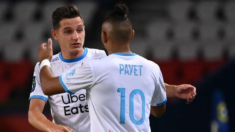 Il Marsiglia batte il Psg, cinque espulsi nel finale