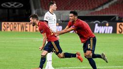 Gaya all'ultimo secondo: pari tra Germania e Spagna