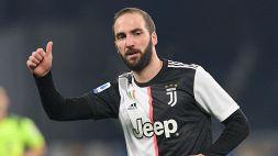 Juventus, ufficiale l'addio di Higuain