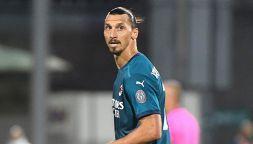 Tegola per il Milan: Ibrahimovic positivo al coronavirus