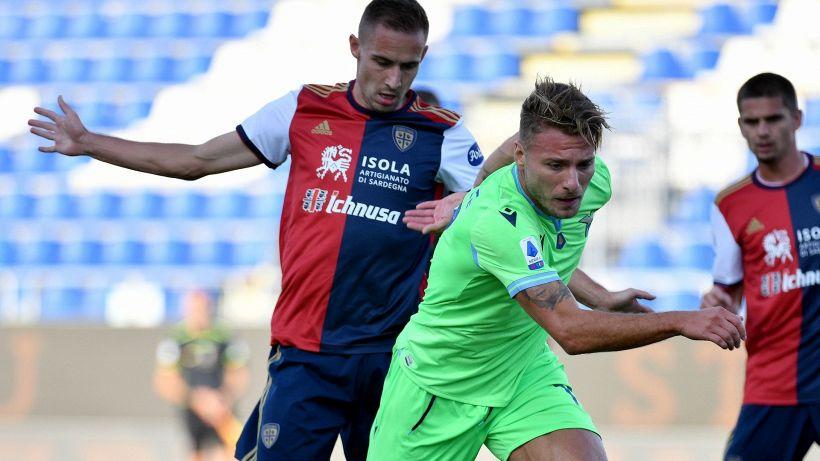 Serie A, la Lazio passa a Cagliari. Il Benevento ribalta la Samp