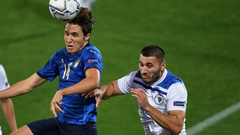 Nations League, falsa partenza per l'Italia. Sensi risponde a Dzeko