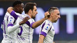 Kouamé a segno contro l'Inter: giocò in nerazzurro nel 2016